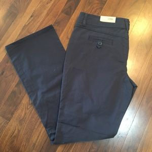 NWT MAURICES Kaylee Original Slim Boot Navy Pants